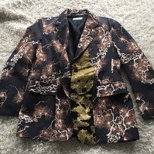 Dries Van Noten Jaquard Blazer